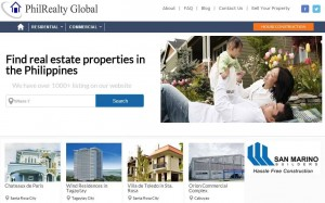 PhilRealtyGlobal Homepage 4-25-14