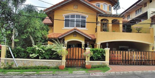 Mediterranean House and Lot for sale in Sacay Grand Villas, Los Baños