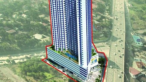 Blue Residences Condominium, Katipunan, Quezon City