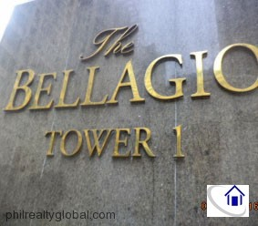 1BR Bellagio I Condominium for Sale, Bonifacio Global City