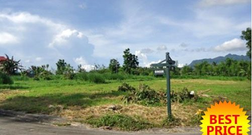 Hacienda Sta Monica Foreclosed 936 sqm. Lot, in Lipa City