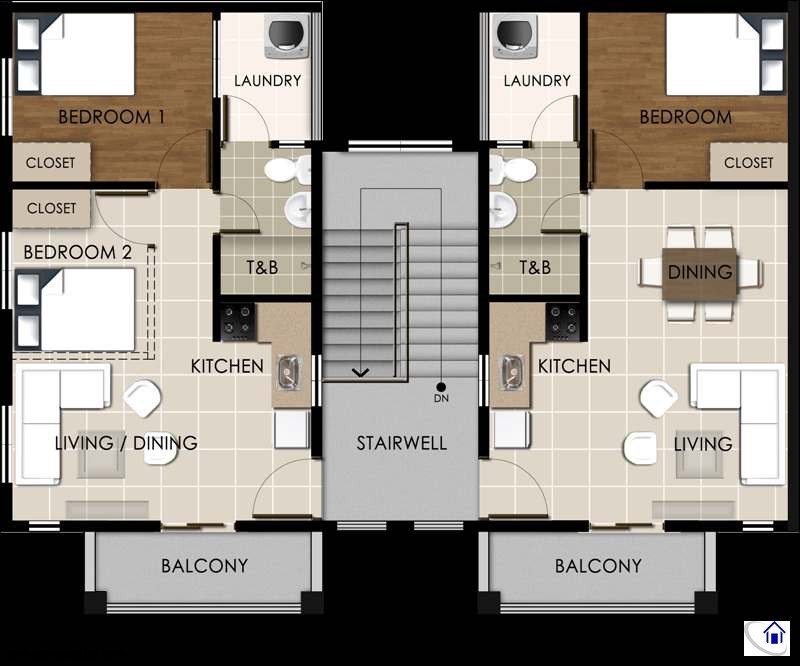 Suite C Third Floor Layout