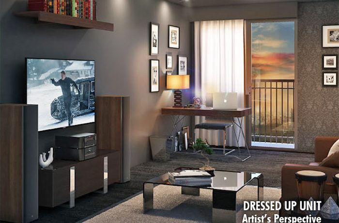 Coast Residences Condominium, Roxas Boulevard - Dressed-up unit