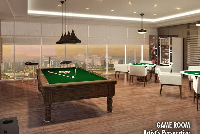 Coast Residences Condominium, Roxas Boulevard - Game room