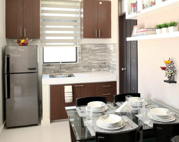 Narra 36 sqm model dining and kitchen
