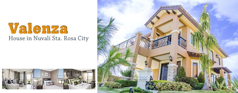 Valenza by Crown Asia house for sale in Nuvali Sta Rosa City Laguna