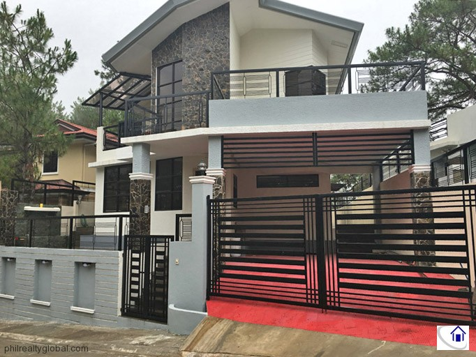 Brand New Fully Furnished 5-bdedroom House in Baguio