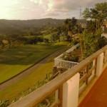 Golf Fairway beside the House