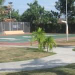 Basketball Court of Villa Caceres