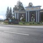 Main Entrance Gate of Royale Tagaytay