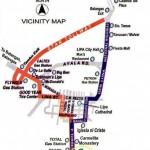 Hacienda Sta. Monica Vicinity Map