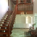 Foyer and Narra Stairs
