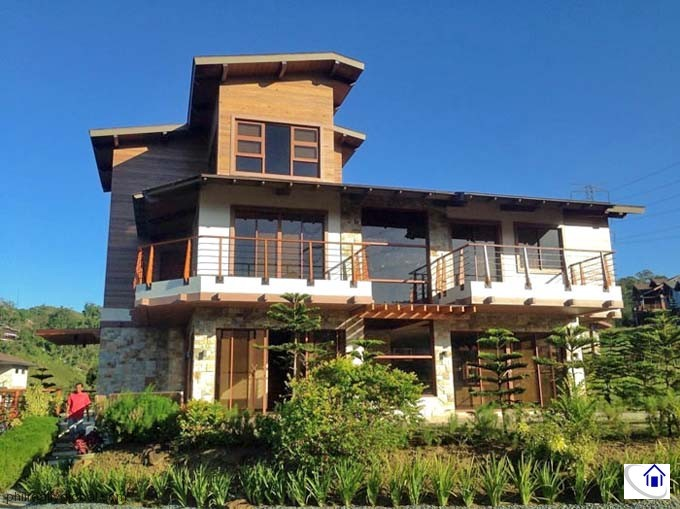 Modern Cabin House For Sale In Hillside Tagaytay Highlands Phil Realty Global Marketing
