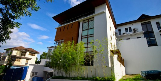3-storey Modern House in Mckinley Hill, Taguig City