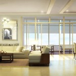 East Gallery Place Sky Rise Living Dining Area