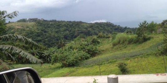 1-hectare Prime Commercial lot in Tagaytay Ridge with Taal View
