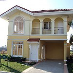 Cadiz House Model. Floor Area: 160.68 sq.m.