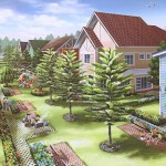 The Courtyard Cluster at The Parks at Saratoga Hills