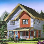 Bridlewood Model. Floor Area - 180 s.qm.