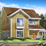 Darien Model. Floor Area - 190 sq.m.
