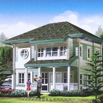 Nantucket Model. Floor Area - 198 sq.m.