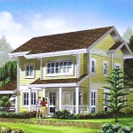 Newport Model. Floor Area - 198 sq.m.