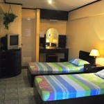 STANDARD ROOMS - With 2 single beds