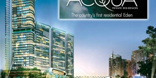 Acqua Private Residences, Condo units in Mandaluyong
