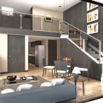 Two Bedroom Loft Unit