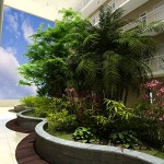 Landscaped Atrium