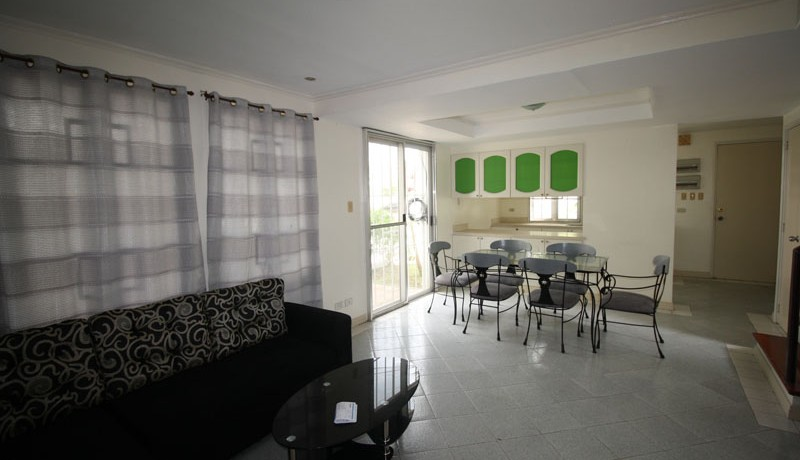Living room and dining area 1