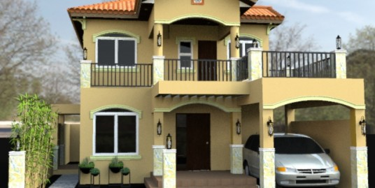 House and lot in LA Village in Los Banos, Laguna