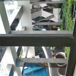 View from Master's bedroom to the Amenities Areas - 37th floor - Gramercy Residences
