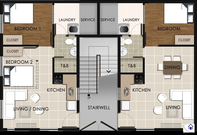 Suite A Ground Floor Layout