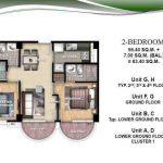 Oceanway Residences, Boracay Condo Floor plan