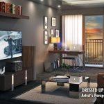 Coast Residences Condominium, Roxas Boulevard - Dressed-up unit