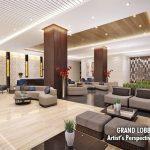 Coast Residences Condominium, Roxas Boulevard - lobby