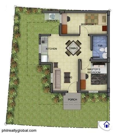 Narra sqm 36sqm Floor Plan
