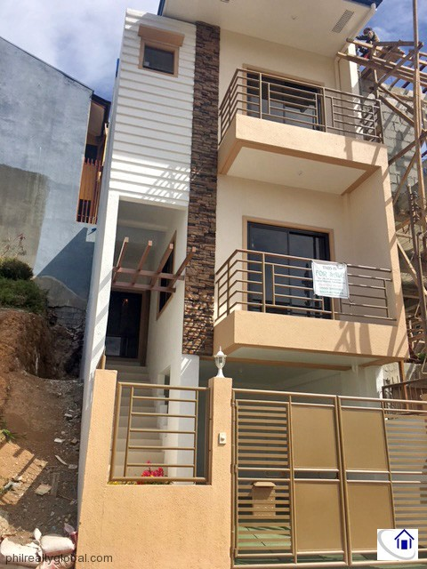 Brand New House with Overlooking View for Sale in Baguio City