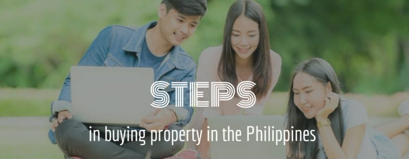 steps in buying property in the philippines