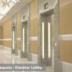 Sequoia elevator lobby
