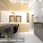 Sequoia locker room