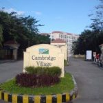 Cambridge Village, Condo in Cainta - entrance