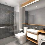 PIONEER WOODLAND RESIDENCES Mandaluyong Condo - 1BR Bathroom