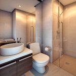 PIONEER WOODLAND RESIDENCES Mandaluyong Condo - 2BR Bathroom