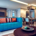 PIONEER WOODLAND RESIDENCES Mandaluyong Condo - Living, Kitchen and Dining