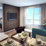 PIONEER WOODLAND RESIDENCES Mandaluyong Condo - Living and Dining 2
