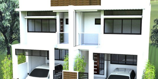 Duplex House with Loft for sale in Los Banos, Laguna