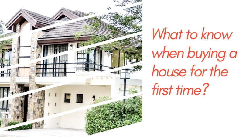 what to know when buying a house for the first time