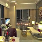 2 Bedroom Condo Unit for sale at The Florence, Mckinley Hill - living area